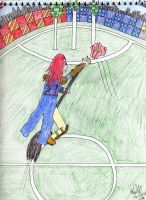 Jelena in Quidditch by Midnight-Calling