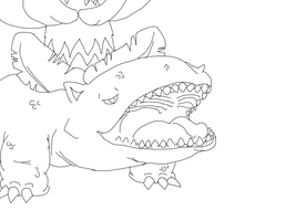 Venusaur Lines by danceswithzerg