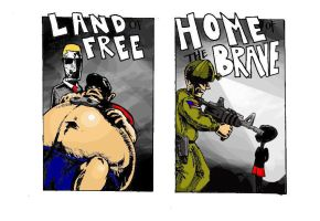 Land of the Free and the Home of the Brave by StretchTagger