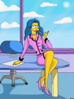 Marge Simpson by Spartandragon12