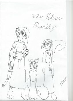 The Shar Family, and Universe info by NikkiWolf315
