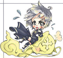 Allen Walker (chibi fan art) by oWinTer