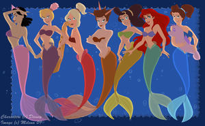 Daughters of Triton by MilGoncalez