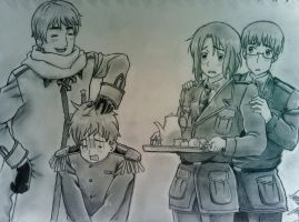 Russia, Lithuania, Latvia, and Estonia by The-swift-alchemist
