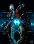 Shepard Commander We Are Here To Help by BarbDBarb