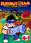 Serious Sam: the COMIC encounter. (Cover/Poster) by FranckyFox2468