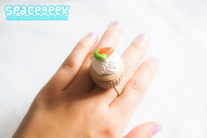 Carrot Cupcake Ring by tiny-moon
