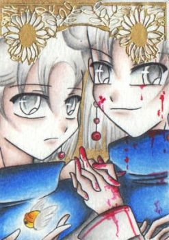 The Blood of the Twins by AimaiLeafy