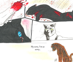Warrior Cats Season 1- Brothers Fate Page 3 by spiritdaughter
