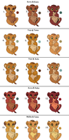 Free Lion Newborn Parining adoptables: All Taken! by Tams-secret-twin