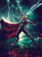 Avengers : Age of Ultron - Thor by NO-LooK-PaSS