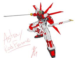 Paintchat - Astray Red Frame by GuyverC