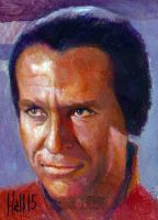 star trek 50th oil sketch 30 by charles-hall