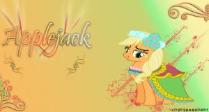 Applejack - Dama de honor by ulisesdarklight
