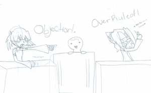 OBJECTION :Collab: by VioletAqua