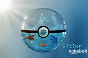Out: Water Pokeball by DonaGreyback