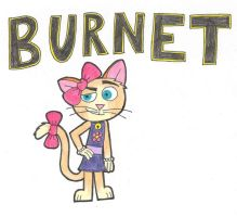 Burnet Cat by Lily-Starlight
