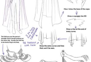 Drawing Clothes And Folds by Crysa
