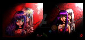 Tears of Blood- Comparison by moonlight-messenger