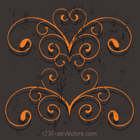 Ornament Vector Background by 123freevectors