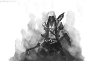 Assassins Creed III concept art by picool4