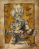 Son Goku by Pieshiro