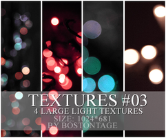 4 Light-Points Textures by bostonstage