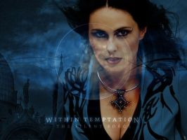 Within Temtation Wallpaper by soraxkairi4everfan13