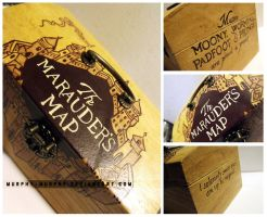 Marauder's Map Keepsake Box by Murphy-Murphy
