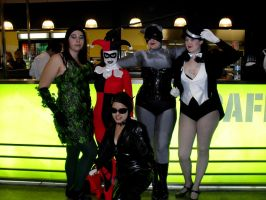 Gotham City Sirens Timewarp by theprincessbee