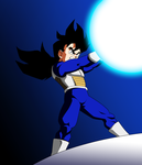 DBZ Drawthrough 5   The Power Comes from a Need by b36one