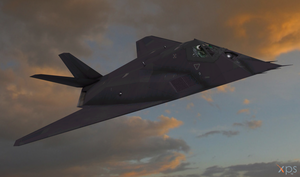 F-117 Night Hawk by bstylez