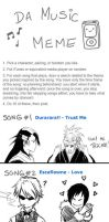 MUSIC MEME - LOL I had fun XD by Washu-M