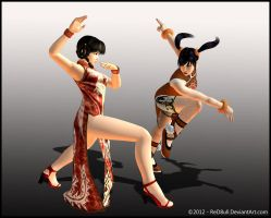 Lei Fang vs Ling Xiaoyu by ReD8ull