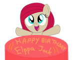 Happy late Birthday Elppa by Huskkies