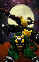 Battletoads by aKmEToOnS