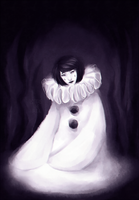Pierrot the Clown by Sitas-the-Fool