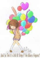 Balloons of Happiness by isanctz