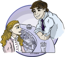 Jim and Pam by Ciro1984