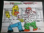 peter griffon X homer simpson by sideshowricky