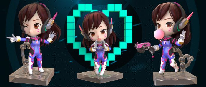 Nendoroid D.Va by R-no71