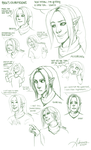 Ben's expressions by SUCHanARTIST13