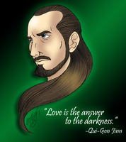 Love is the Answer to the Darkness by DarthGuyford