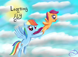 Learning to fly by PoisonicPen