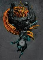 Midna, the Twilight Princess by T-RexJones
