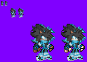 (Commission  2) My First Revamp - Iyim Sprite by NSMBXomega