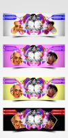 Colorful Facebook Timeline Cover by pascreative