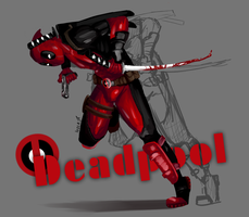 Deadpool by Ivoir3