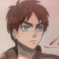 Eren: Brave and Strong by AnimeLoverOCD