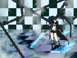Black rock shooter by Shou-ryu